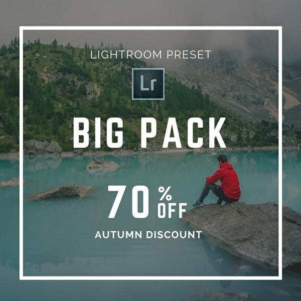 PK50_BIG Pack Lightroom preset