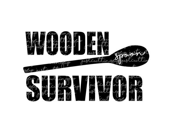 Wooden Spoon Survivor SVG- SVG Only