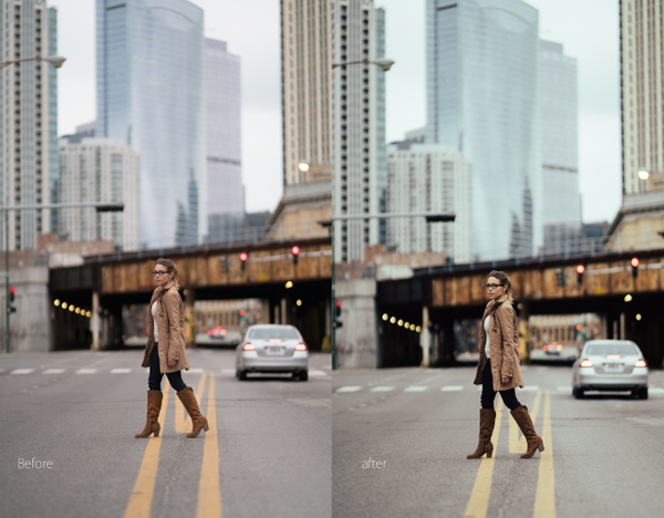 Urban Portrait Film Preset