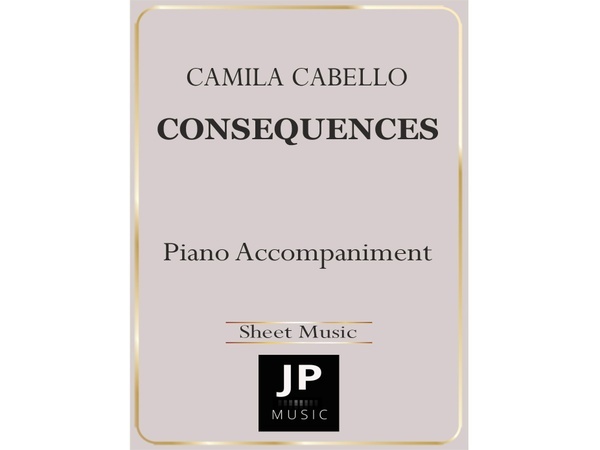Consequences - Piano Accompaniment