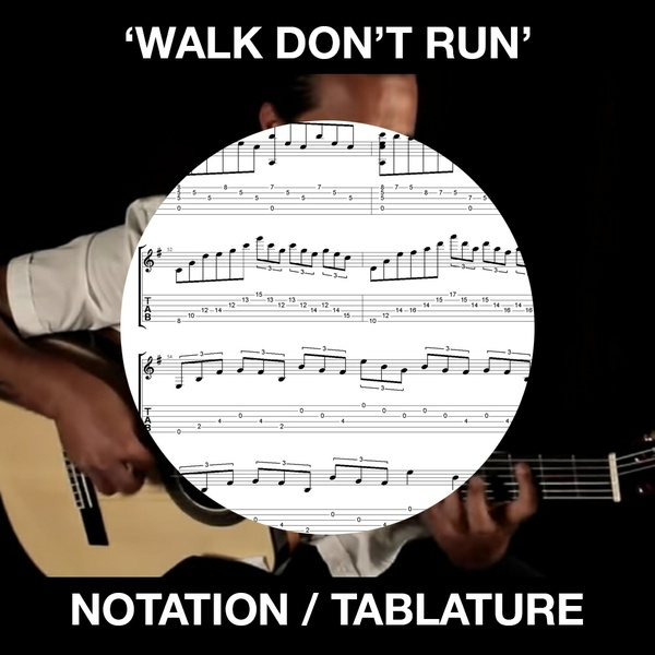 WALK DON'T RUN - Solo Guitar - Ben Woods