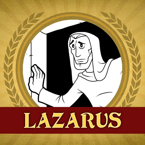 The Heroes of the Bible Coloring Pages: Lazarus