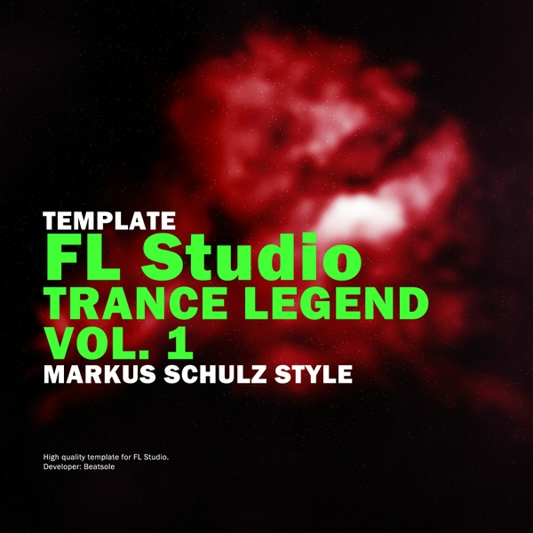 Trance Legend FL Studio Template Vol. 1 (Markus Schulz Style)