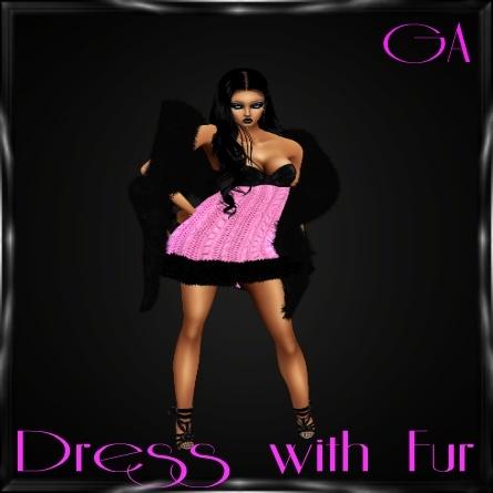 Dress w/Fur