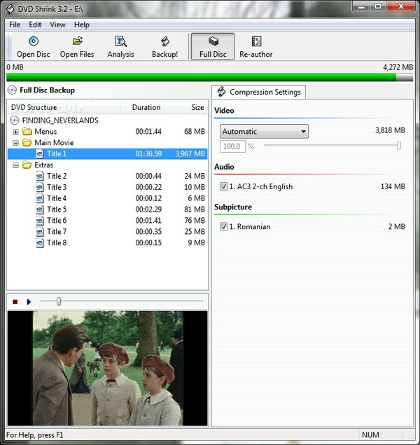 DVDShrink 3.2