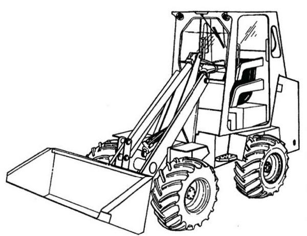 Bobcat 1600 Loader Service Repair Manual Download