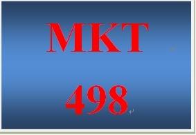 MKT 498 Week 5 Integrated Marketing Communications (IMC) Plan