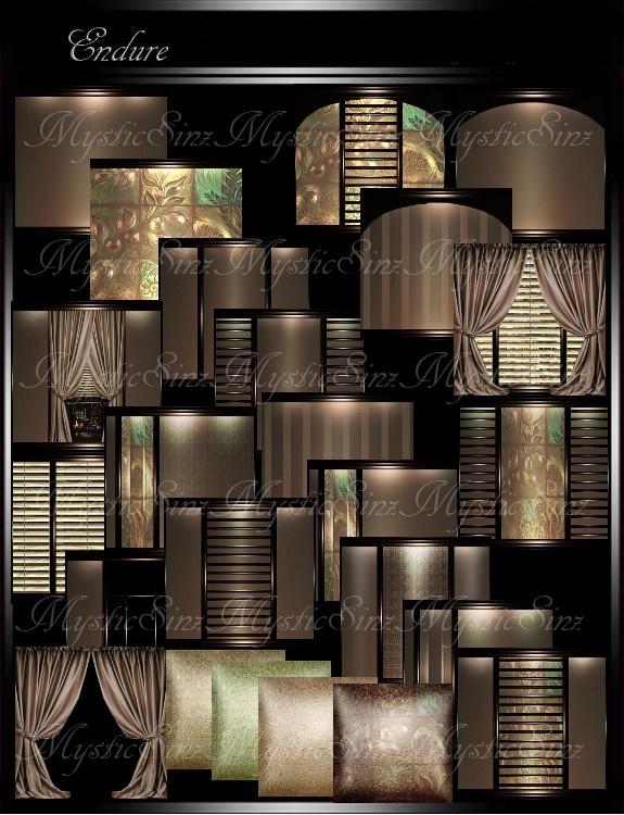 IMVU Textures Endure Room Collection