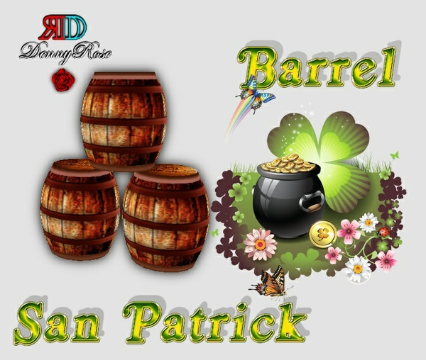 BARRELS SAN PATRICK MESH