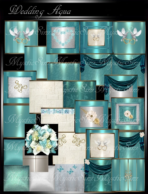 IMVU Textures Wedding Aqua