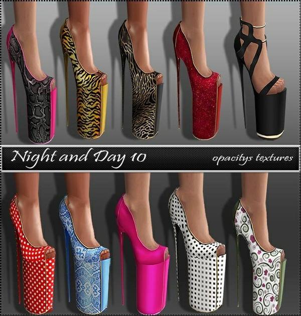 Day & Night Texture Set Full Pack IMVU TEX