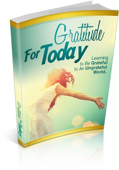 Gratitude For Today