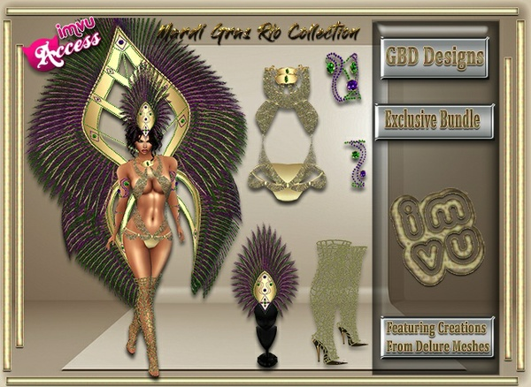 Mardi Gras Rio Exclusive Collection Resell Rights