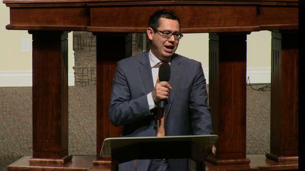 """Rev. Daniel Macias 2-11-15pm """" In His Presence"""" MP4"""