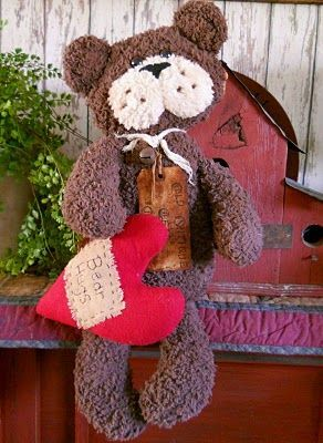 #203 Bear Hugs E Pattern