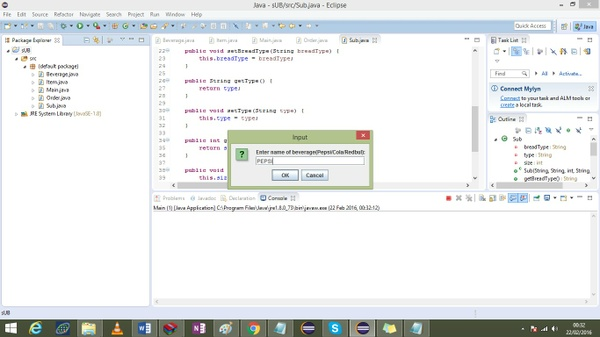 Java code to ask questions on customer  information