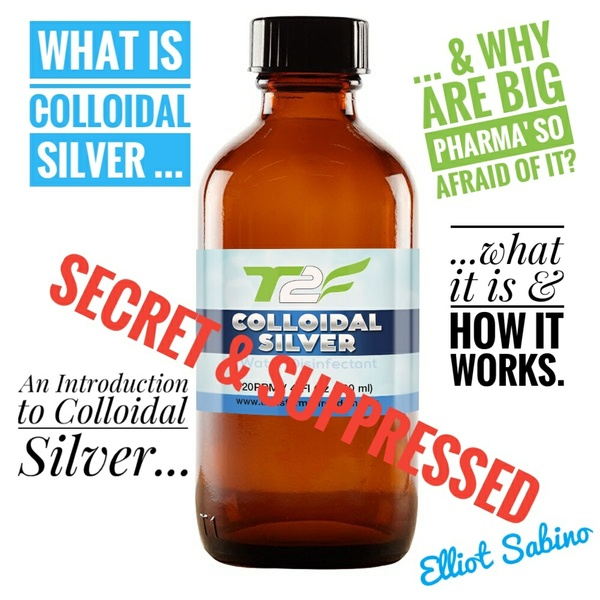 What is Colloidal Silver, & Why Are Big Pharma` So Afraid of It?