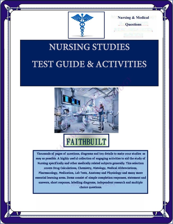 NURSING & MEDICAL COMPREHENSIVE QUESTIONS EBOOK