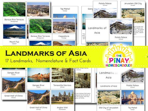 Landmarks of Asia
