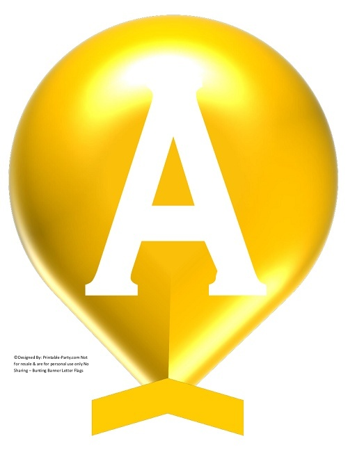LARGE-YELLOW-WHITE-BALLOON-PRINTABLE-BANNER-LETTERS-A-Z-0-9