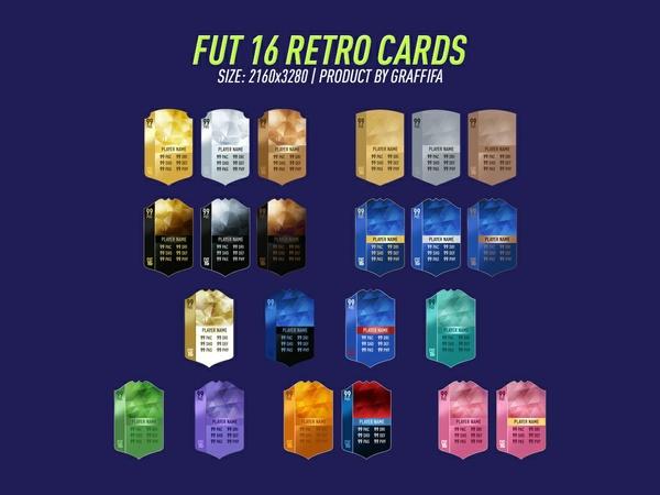 FUT 16 RETRO CARDS