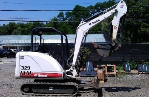 BOBCAT 329 COMPACT EXCAVATOR SERVICE REPAIR MANUAL (S/N: AACL11001 & Above, S/N: A9K211001 & Above)