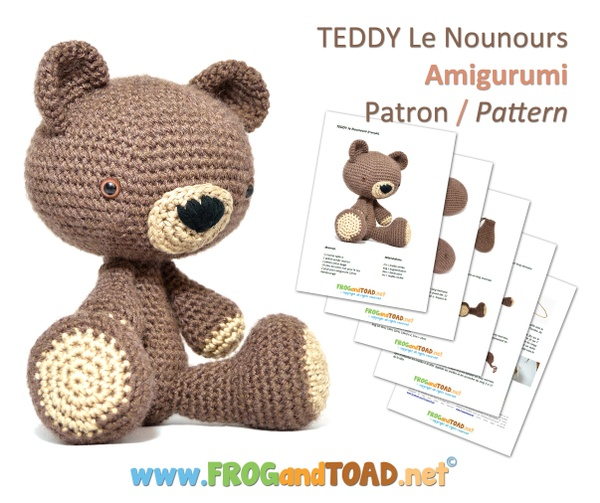 TEDDY le Nounours - FROGandTOAD Créations ©