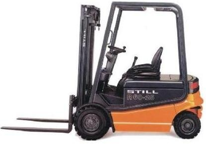 Still Electric Forklift Truck R60-20, R60-25, R60-30: 6022, 6023, 6024, 6025 Spare Parts List