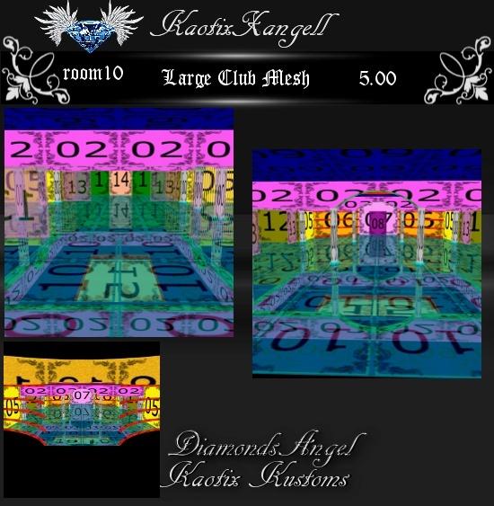 Large Club Mesh -room10