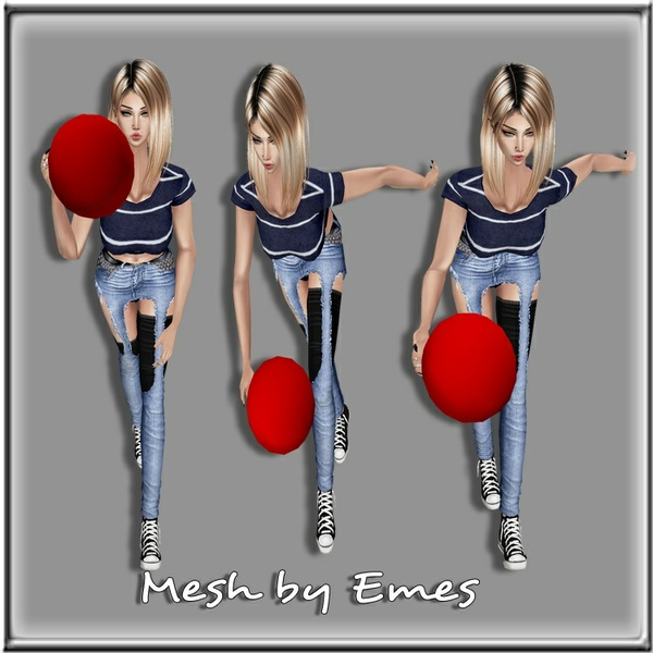 Bowling Set Meshes(7 meshes)
