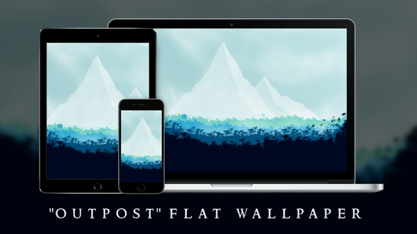 """Outpost"" | Wallpaper"