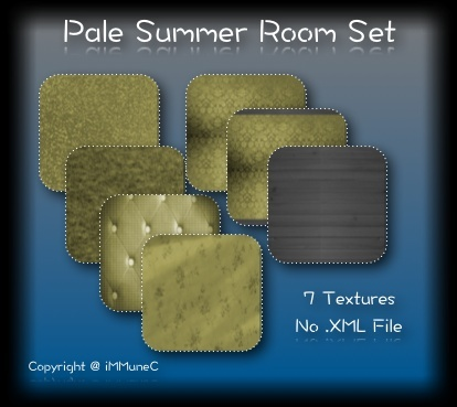 7 Pale Summer Room Textures