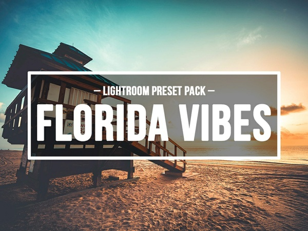 FLORIDA VIBES – LIGHTROOM PRESETS