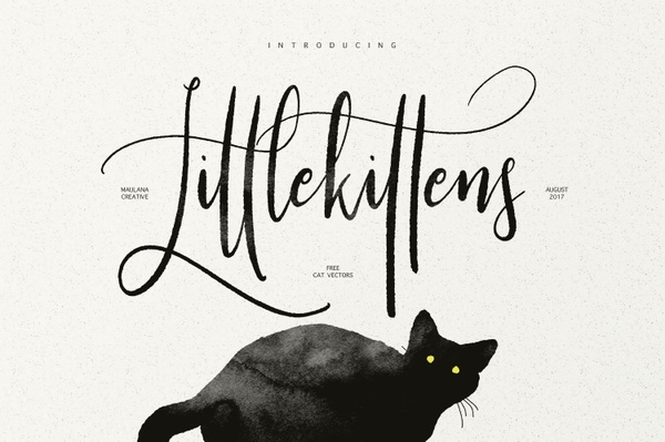 Little Kittens Typeface