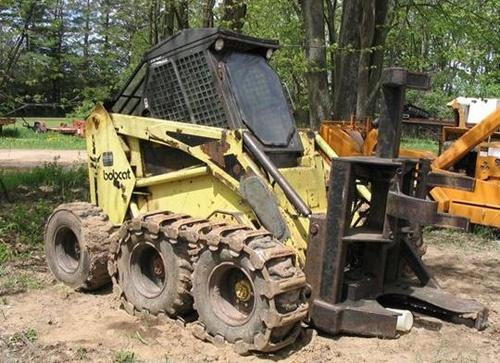 Bobcat 1213 Feller Buncher Service Repair Manual Download