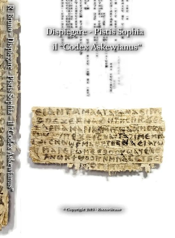 Dispiegare Pistis Sophia - il Codex Askewianus
