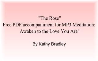 "Free PDF Tool: ""The Rose"""