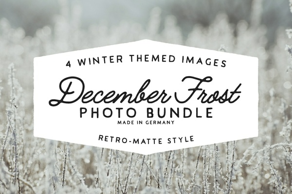 December Frost - Photo Bundle