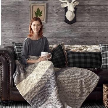 Hibernate Knit Blanket