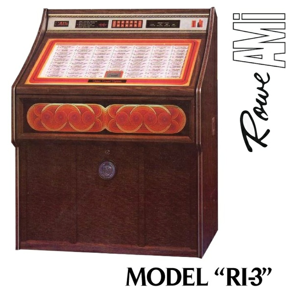 Rowe AMI  RI-3 Jewel  (1980)   Manual & Flyer