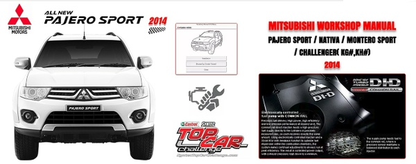 Mitsubishi Pajero Sport 2011-2014 Workshop Manual