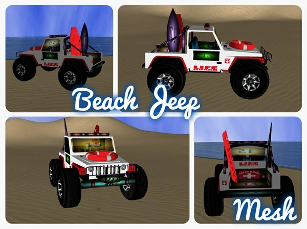 Beach Jeep