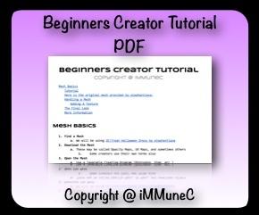 IMVU Beginners Creator Tutorial