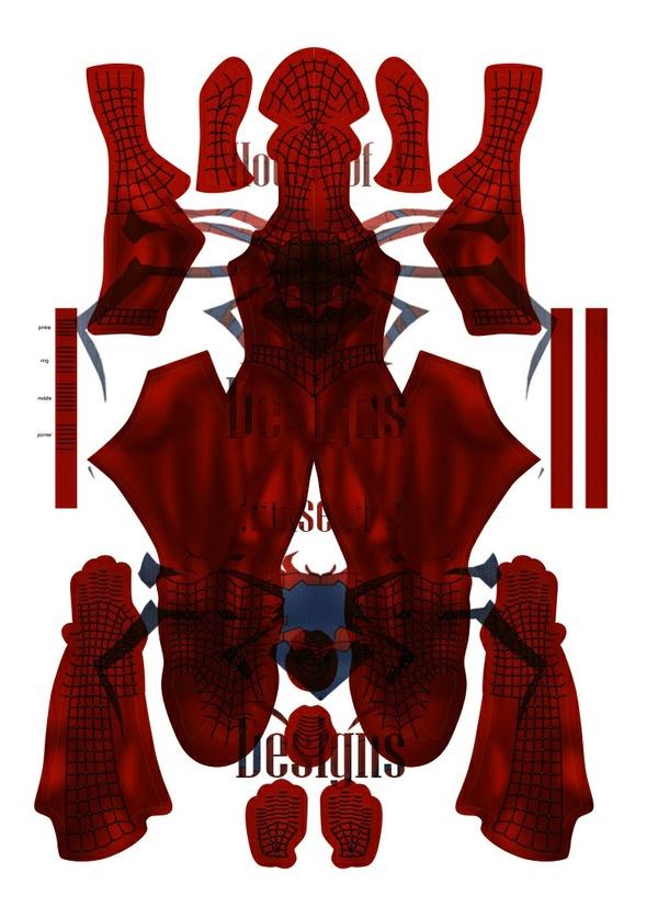 """""""Scarlett Spider"""" (Raimi - Spiderless) Spider-man pattern"""