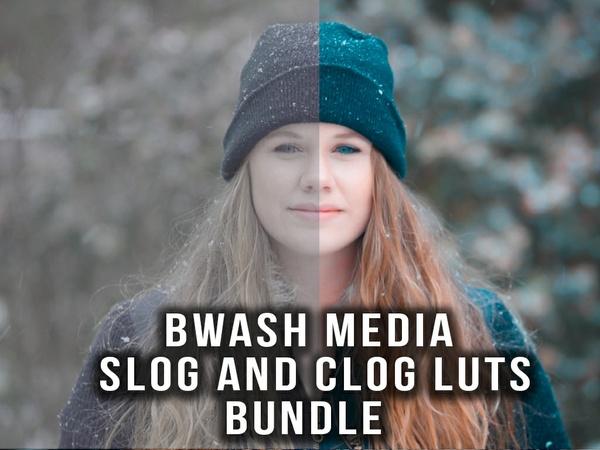 Bwash Media SLog and CLog Lut Pack