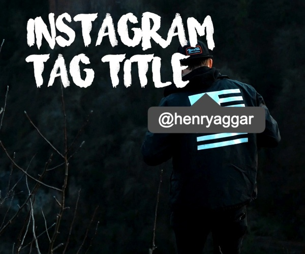 Instagram Tag Title - Final Cut Pro X