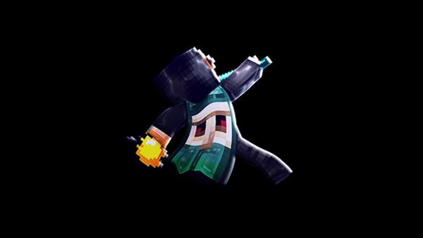 Minecraft edited render. (Transparent)