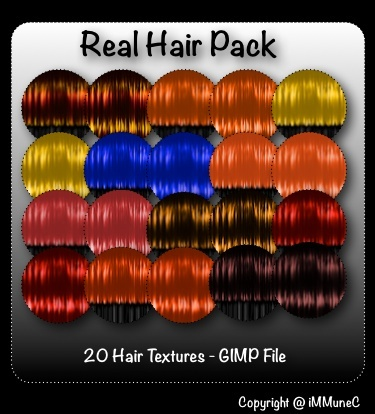 20 Real Hair Textures