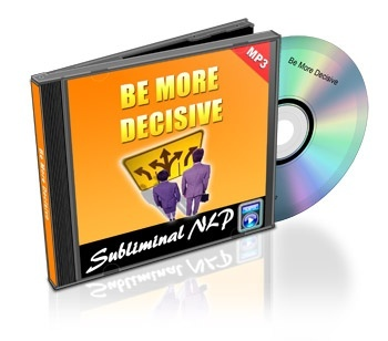 Be More Decisive Subliminal MP3 Download
