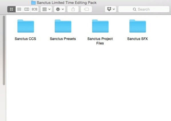Sanctus Limited Time Editing Pack